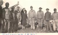 POWs at Camp Houlton, 1945