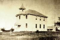 First Brooklin High School in 1901