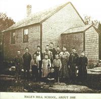 Hale's Corner School, Brooklin, 1898