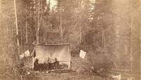 Camp at Little Falls on the St. Croix Stream, 1891