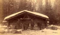 Crandall's Lumber Camp, Big Smith Brook, 1889