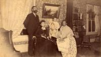 E. B. White and family, Houlton, ca. 1895