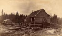 Weeks Mill on Big Smith Brook, 1891