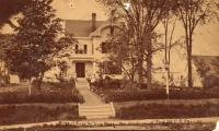 Home of Charles and Julia West, Houlton