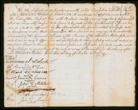 Revolutionary War enlistment paper, March 25, 1779