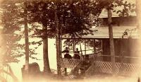 Ludwig Cottage on Nickerson Lake, ca. 1895