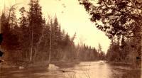 Near Little Falls on St. Croix Stream, 1891