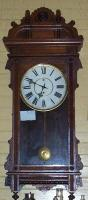 Wall clock, Bucksport, ca. 1890