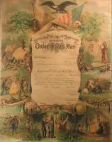 Improved Order of Red Men charter, Fryeburg, ca. 1930