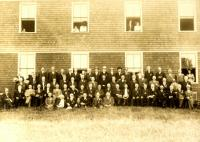 27th Maine Infantry, Arundel Grange Hall, ca. 1905