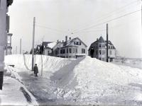 Snowdrift on Morning Street, Portland, 1898