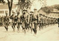 World War I soldiers, Kennebunk, ca. 1918