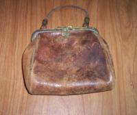 Sarah Ware purse, Bucksport, 1898