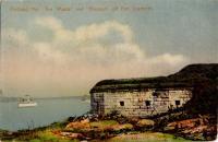 Vessels near Fort Scammel, Portland, ca. 1907