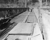 Waldo-Hancock Bridge Repairs by Maine Department of Transportation, 1960