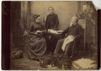 Plaisted family, Augusta, ca. 1880