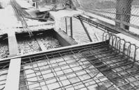 Waldo-Hancock Bridge repairs, 1960