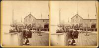 Portland waterfront, ca. 1900