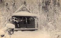 Camp in the Aroostook Woods, c. 1895