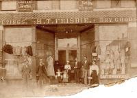 H. T. Frisbie, Dry Goods, ca. 1890