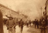Start of Great Houlton Fire, 1902