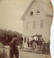 Drop axle wagon, ca. 1895