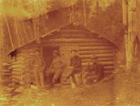Hunting Camp in Aroostook Woods, c. 1895