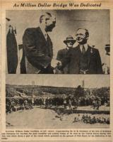 Waldo Hancock Bridge dedication, June 9, 1932