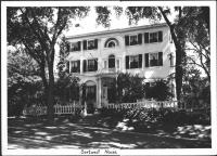 Sortwell House, Wiscasset, 1939