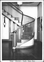 Flying staircase, Castle-Tucker House, Wiscasset