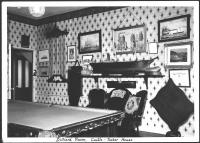 Billiard room, Castle-Tucker House, Wiscasset