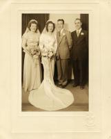 Phil Boudreau and Louise Surrette wedding, 1947