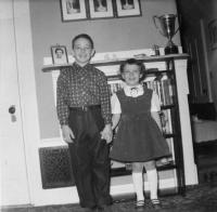 Bruce and Cindy Boudreau, Bangor, 1965
