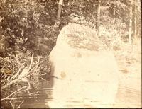 Rock on Grand Lake, c. 1900