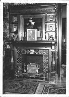 Fireplace, Margaret Chase Smith home, Skowhegan, 1940