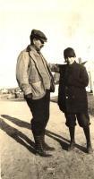 George Walter Hinckley with boy