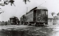 Street rail cars at Eliot, 1903
