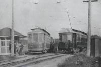 Street cars, South Berwick Junction, 1904