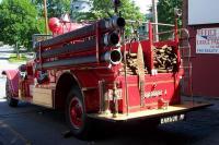 1930 McCann Fire Engine, Bangor, 1930