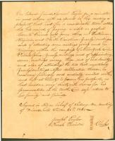 Resolutions concerning Samuel Taylor, 1840