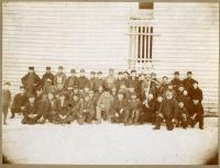 Ice harvesting crew, ca. 1890s