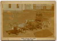 State School for Boys horse team, South Portland, ca. 1900
