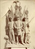 Portland Soldiers and Sailors Monument model, ca. 1890