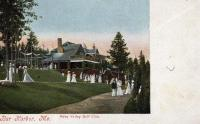 Kebo Valley Golf Club, Bar Harbor, circa 1900