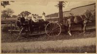 Bucksport women out for drive, 1895