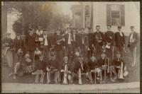 Maine Conference Seminary Band, 1896