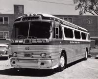 Bangor and Aroostook Railroad Bus Service, 1957