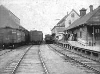 Old freight house, ca. 1900