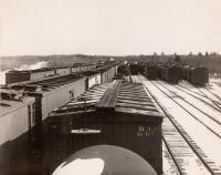 Bangor and Aroostook Hermon Yard, ca. 1950