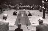 Model Train Races, Houlton, ca. 1960